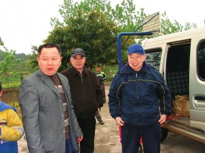 倾囊两千万 捐建30所学校 九旬美籍华人渴望叶落归根回乐至老家
