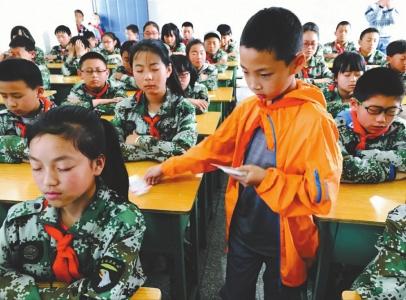 新津9岁少年余知懋 坚持4年做公益