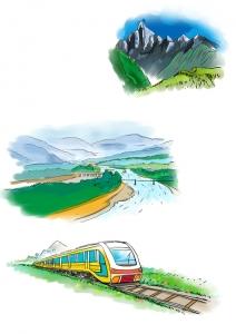 都江堰到四姑娘山将建观光铁路