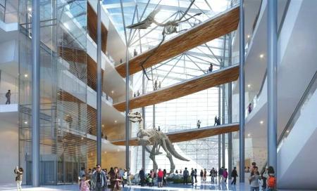 """成都自然博物馆设计方案敲定 2021年去博物馆体验""""奇妙夜"""""""