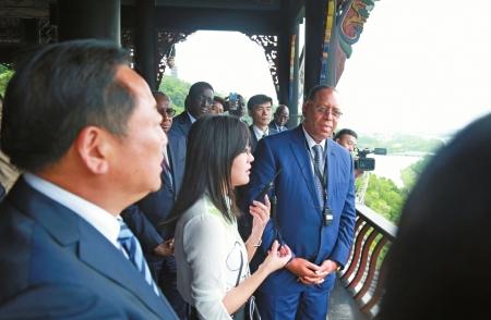 塞内加尔总统访川:优先考虑与成都开通直航