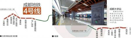 地铁4号线二期新车站颜值高 一站一景突出地域文化